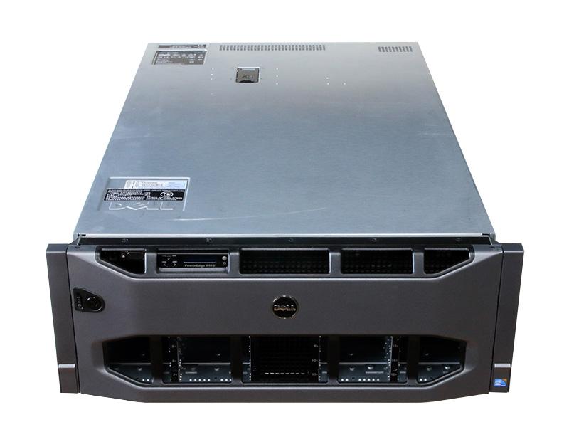 PowerEdge R910 DELL Xeon E7-4830 2.13GHz *4/128GB/HDD非搭載/DVD-ROM/PERC H700/電源ユニット *4【中古】
