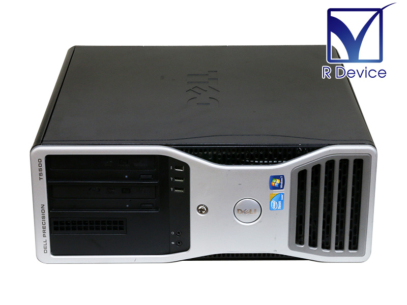 Precision T5500 DELL Xeon Processor E5520 2.26GHz/8GB/500GB/QuadroFX 1800/Windows 7 Professional【中古】