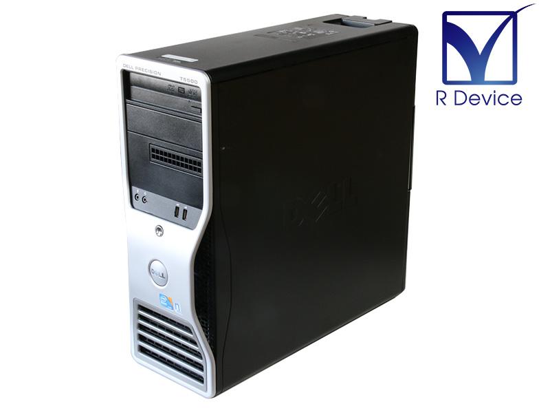 Precision T5500 DELL Xeon Processor X5550 2.66GHz NVS295 HDD非搭載 2 新品未使用 中古 DVD-RW Quadro 信用 24GB