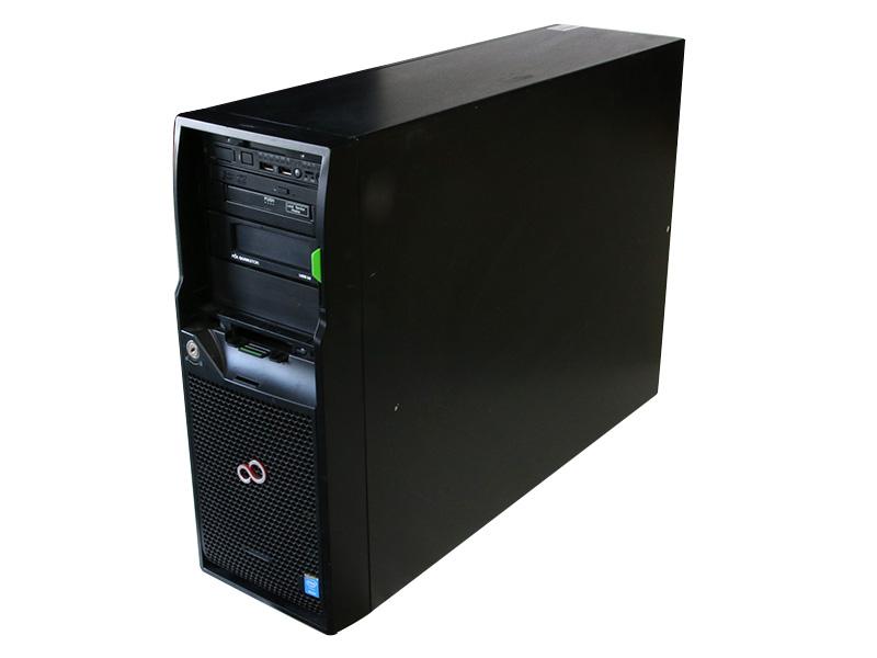 PRIMERGY TX2540 M1 PYT2541T3N 富士通 Xeon E5-2420 v2 2.20GHz *2/32GB/HDD非搭載/DVD-RW/D2607-A21/電源ユニット *2【中古】