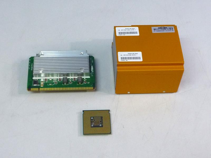 416162-004 HP ProLiant 本店 新商品 DL380 G5用拡張キット Xeon 3.0GHz 5160 中古 ヒートシンク VRM