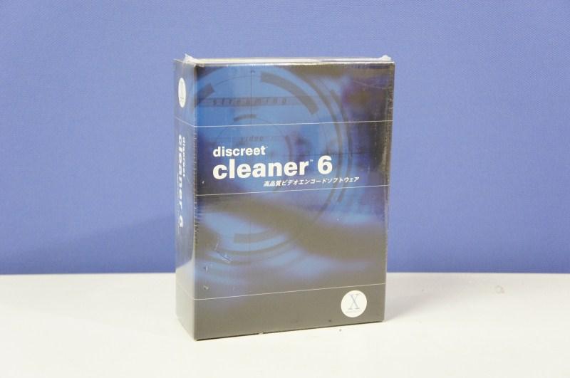 discreet cleaner 6 for Mac ビデオエンコードソフトウェア 日本語パッケージ 新品【送料無料セール中! (大型商品は対象外)】