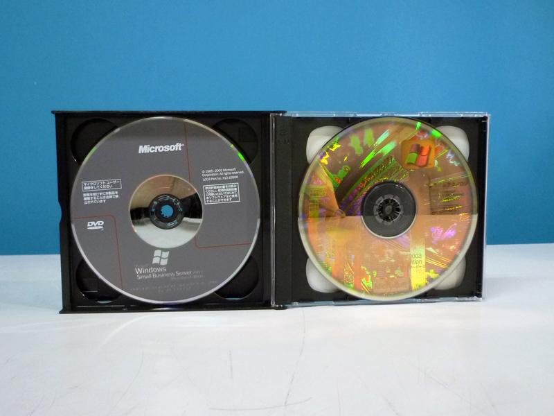 Microsoft Windows Small Business Server 2003 PreniumEdition DVD-ROM+プレミアムテクノロジディスク【中古】【送料無料セール中! (大型商品は対象外)】