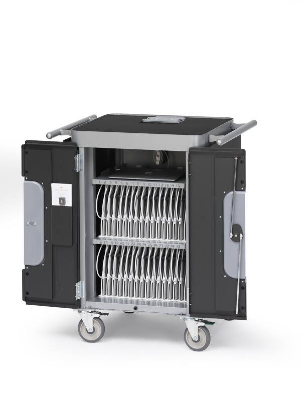 【特価品】Bretford PowerSync Cart for iPad CS4136 H3635J/A 最大30台のiPadを一括で同期・充電・保管、iPad管理システム  新品未使用品