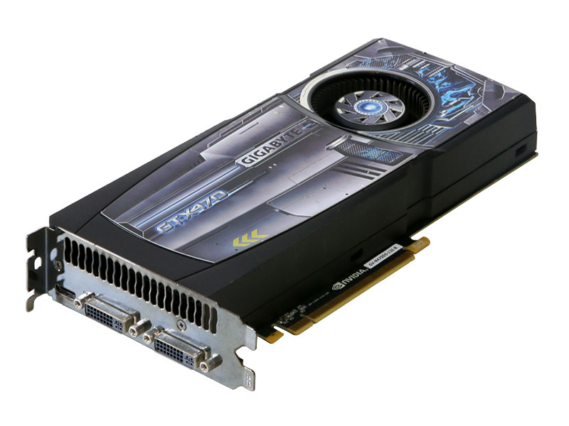 GIGA-BYTE Technology GeForce GTX 470 1280MB Duallink DVI-I*2 /mini-HDMI PCI Express 2.0 x16 GV-N470D5-13I-B【中古】【送料無料セール中! (大型商品は対象外)】