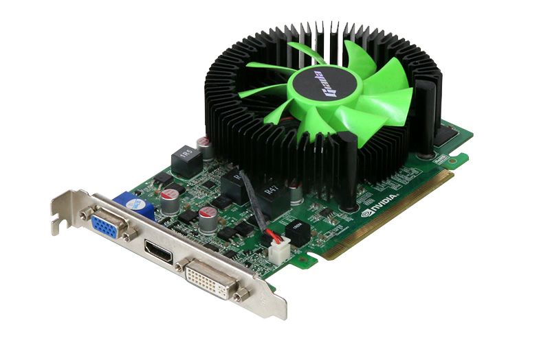 Giada GeFORCE GT440 512MB VGA/HDMI/DVI-I PCI Express 2.0 x16 HV1085-10【中古】【送料無料セール中! (大型商品は対象外)】
