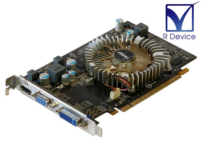 MSI GeForce GT 220 1GB D-Sub DVI HDMI D3 超激安特価 中古 Express x16 往復送料無料 2.0 N220GT-MD1G-OC PCI