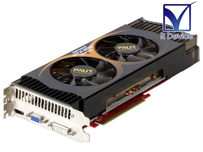 メーカー: Palit Microsystems Ltd. GeForce GTX 285 上等 出色 1024MB HDMI PCI Express 中古ビデオカード D-Sub 15pin x16 2.0 DVI-I NE3TX285FHD05-PM8126