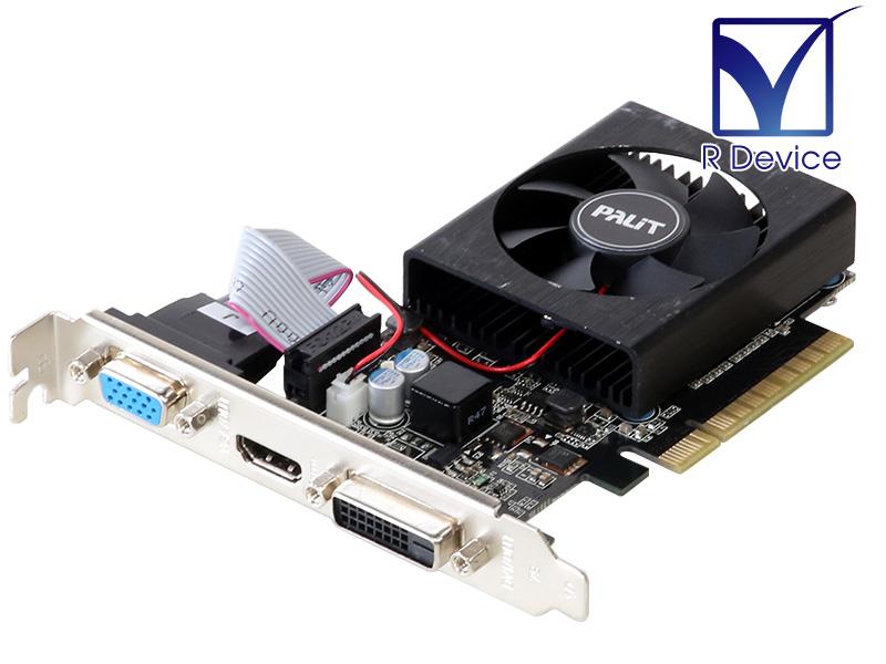 メーカー: Palit 超安い バースデー 記念日 ギフト 贈物 お勧め 通販 Microsystems Ltd. GeForce GT 710 2048MB D-Sub 15pin PCI 2.0 HDMI Express 中古ビデオカード Dual-Link NEAT7100HD46-2080F x8 DVI-D