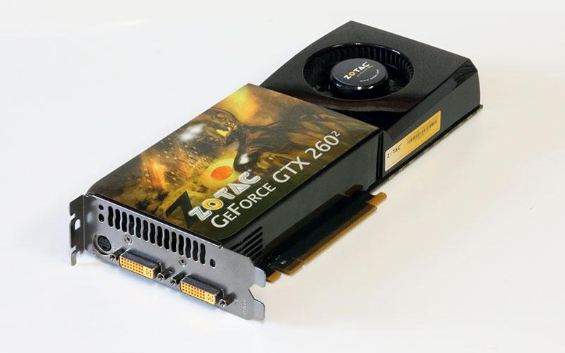 ZOTAC GeForce GTX260^2 896MB DVI *2/TV-out PCI-Express 2.0 x16 ZT-X26E3KD-FSP【中古】【送料無料セール中! (大型商品は対象外)】