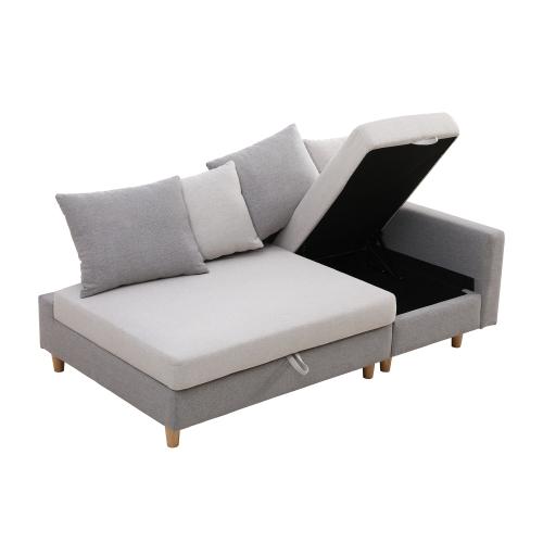 幅180cm お買い得 ソファベッド 2人掛け 引出し収納付き 安心の定価販売 180×101×82cm お昼寝 ベージュ