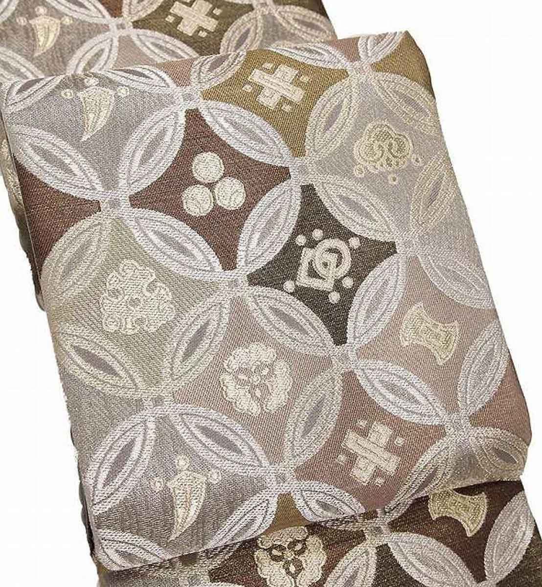 西陣織 全通 袋帯 華陽 シルバー 2020モデル 正絹 [ギフト/プレゼント/ご褒美] 日本製