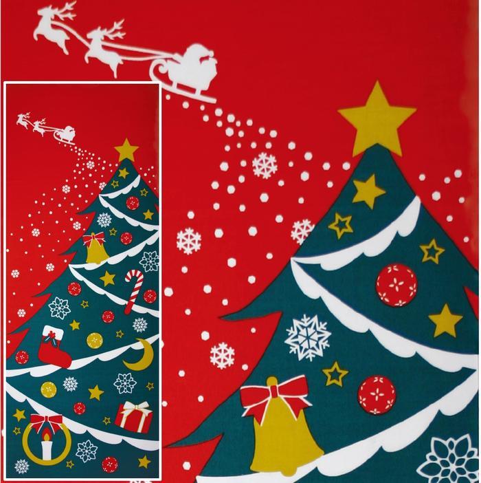 Wazakka Yufuka: Christmas [Christmas tree Santa tapestry Japanese ...
