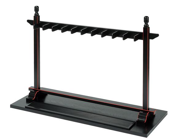 仏具 寺院用仏具 塔婆立<組立式> 黒面朱塔婆立て 木製 日本製 送料無料 代引き手数料無料