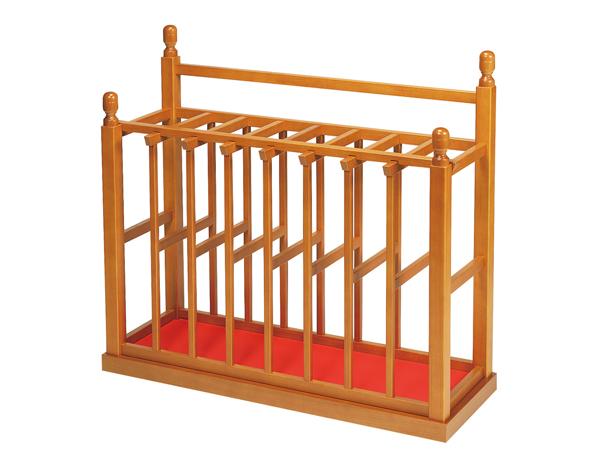 仏具 寺院用仏具 塔婆立<箱型> 欅色(けやきいろ)塔婆立て 木製 日本製 送料無料 代引き手数料無料