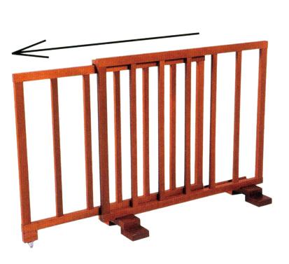 仏具 寺院用仏具 スライド式結界 可動式 桟細型※受注生産商品のためお時間がかかります 結界 室内用 日本製 送料無料 代引き手数料無料