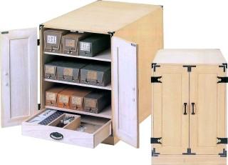 掛け軸 掛軸(かけじく) 総桐掛軸収納庫<中型>掛け軸(桐箱)をまとめて保管 保存するための収納箱です。掛け軸用小物を入れられる引き出し付き 掛け軸(かけじく)販売専門店 全国送料無料無料