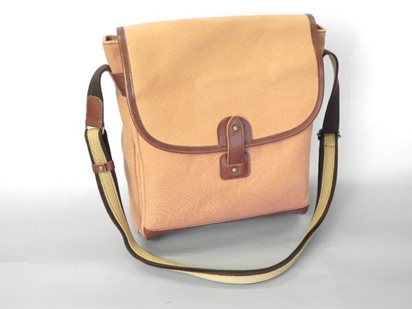 鞄 カバン バッグ 和バッグ 和遊楽 本柿渋染め ショルダーかぶせバッグ 全国送料無料 代引き手数料無料