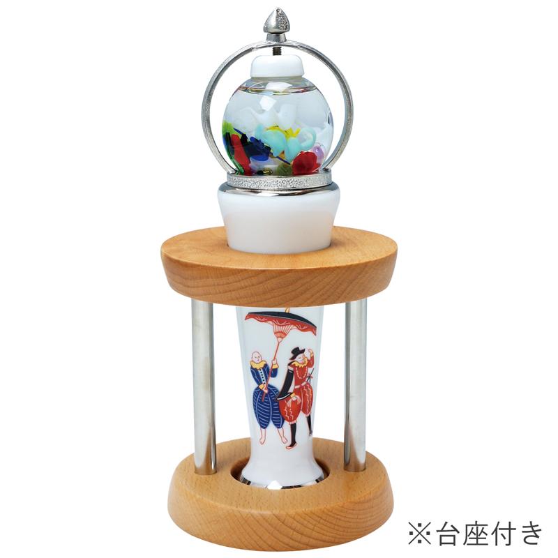 万華鏡 まんげきょう 有田焼万華鏡ガラス球型オイル オランダ人全国送料無料 代引き手数料無料 ガラス球オイルタイプ インテリア 陶器製万華鏡 プレゼント ギフト お祝い 内祝