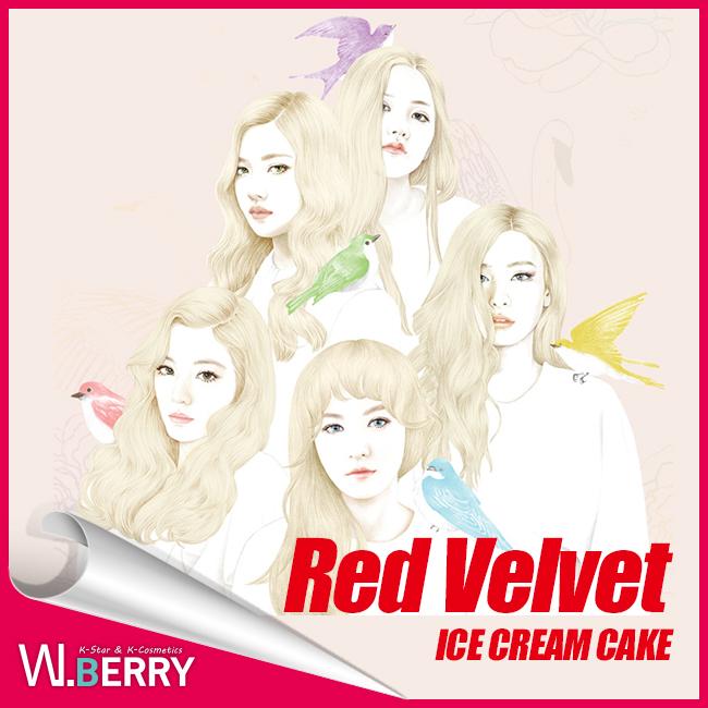 Red Velvet(紅天鵝絨)-ICE CREAM CAKE 1st mini album