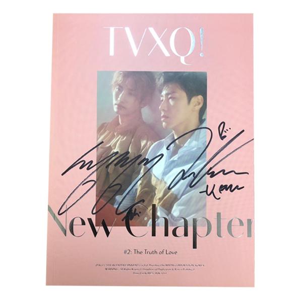 【直筆サイン入り/送料無料】東方神起 TVXQ! デビュー15周年スペシャルアルバム [New Chapter #2: The Truth of Love]