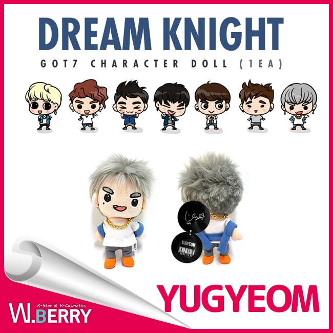 GOT7關稅及貿易總協定七Dream Knight Goods人物nuigurumi GOT7 Character Doll