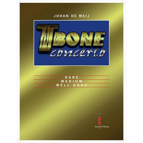 (楽譜) Tボーン・コンチェルト / 作曲:ヨハン・デメイ (吹奏楽 トロンボーン 協奏曲)(フルスコアのみ)