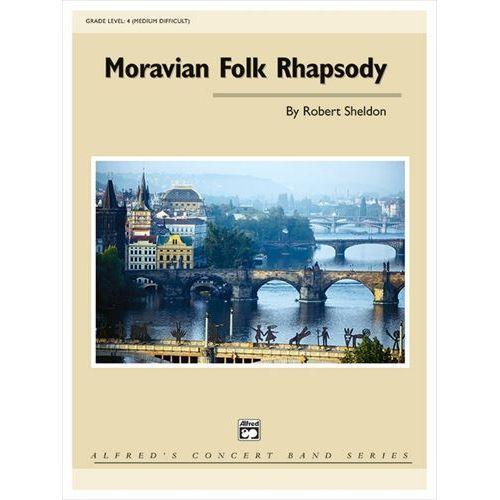 (楽譜) モラヴィア民謡狂詩曲 / 作曲:ロバート・シェルドン (吹奏楽)(スコア+パート譜セット)