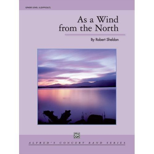 (楽譜) 北からの風のように / 作曲:ロバート・シェルドン (吹奏楽)(スコア+パート譜セット)