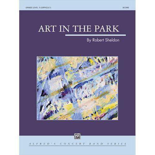 (楽譜) アート・イン・ザ・パーク / 作曲:ロバート・シェルドン (吹奏楽)(スコア+パート譜セット)