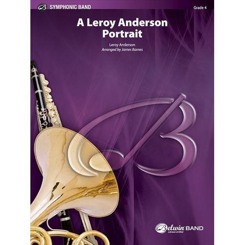 (楽譜) ルロイ・アンダーソン・ポートレイト / 編曲:ジェイムズ・バーンズ (吹奏楽)(スコア+パート譜セット)