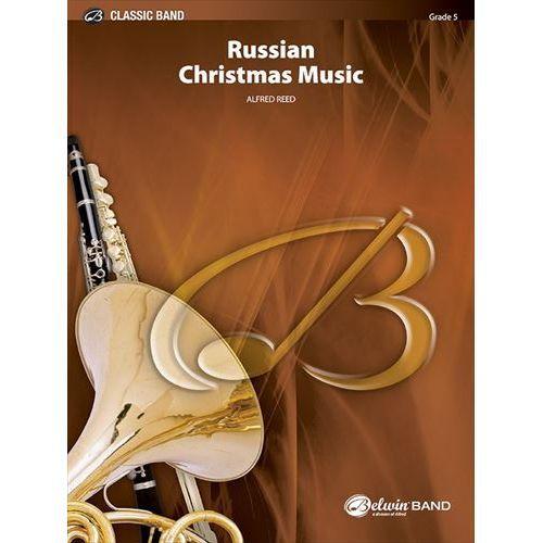 (楽譜) ロシアのクリスマス音楽 / 作曲:アルフレッド・リード (吹奏楽)(スコア+パート譜セット)