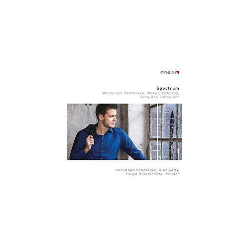 クラリネット CD (CD) スペクトラム / 演奏:クリストフ・シュナイダー (クラリネット)