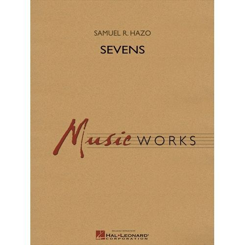 高品質新品 吹奏楽 楽譜 セブンズ 作曲:サミュエル 至上 R ヘイゾ スコア+パート譜セット