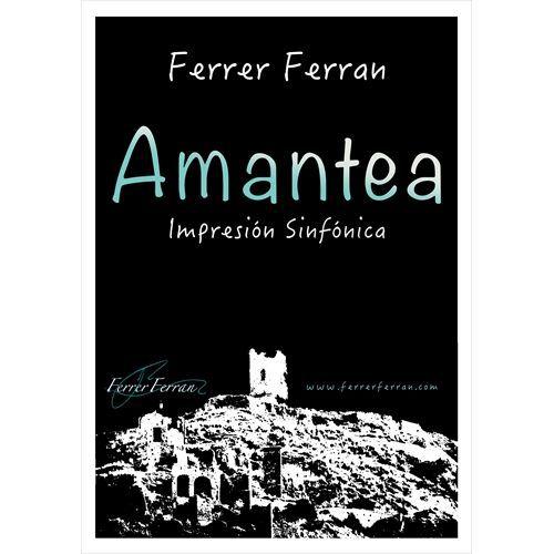 (楽譜) アマンテーア / 作曲:フェレール・フェラン (吹奏楽)(スコア+パート譜セット)
