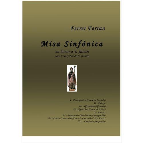 (楽譜) 交響的ミサ / 作曲:フェレール・フェラン (吹奏楽)(スコア+パート譜セット)