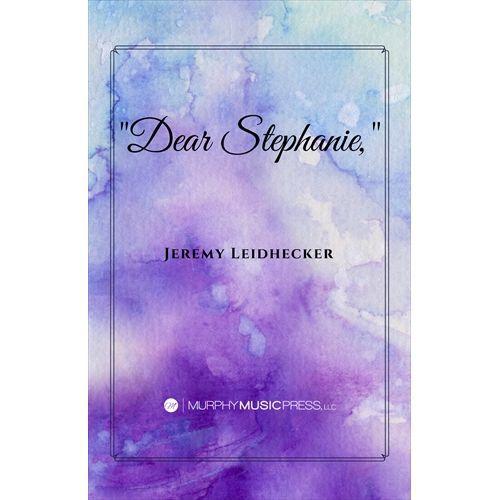 (楽譜) 「親愛なるステファニー、」 / 作曲:ジェレミー・リーデッカー (吹奏楽)(スコア+パート譜セット)