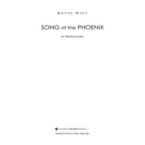 (楽譜) 不死鳥の歌 / 作曲:ケヴィン・ウィルト (吹奏楽)(パート譜のみ レンタル)
