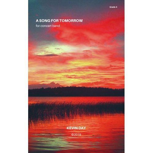 (楽譜) 明日への歌 / 作曲:ケヴィン・デイ (吹奏楽)(スコア+パート譜セット)