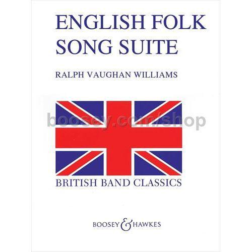 (楽譜) イギリス民謡組曲 / 作曲:レイフ・ヴォーン・ウィリアムズ (吹奏楽)(スコア+パート譜セット)