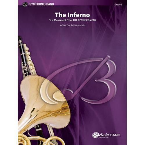 (楽譜) 交響曲第1番「神曲」: I. 地獄篇 / 作曲:ロバート・W・スミス (吹奏楽)(スコア+パート譜セット)
