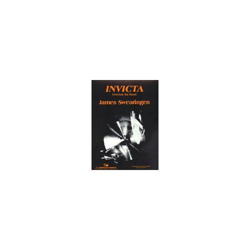 (楽譜) インヴィクタ / 作曲:ジェイムズ・スウェアリンジェン (吹奏楽)(スコア+パート譜セット)