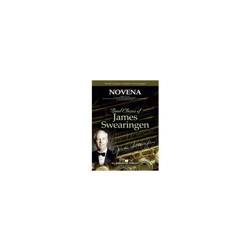 (楽譜) ノヴェナ / 作曲:ジェイムズ・スウェアリンジェン (吹奏楽)(スコア+パート譜セット)