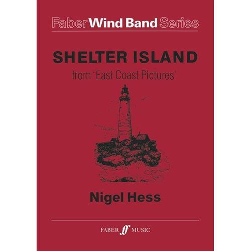 (楽譜) イーストコーストの風景 I. シェルター島 / 作曲:ナイジェル・ヘス (吹奏楽)(スコア+パート譜セット)
