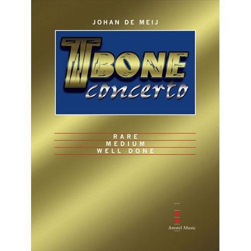 (楽譜) Tボーン・コンチェルト / 作曲:ヨハン・デメイ (吹奏楽 トロンボーン 協奏曲)(スコア+パート譜セット)