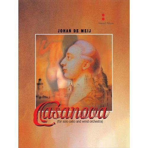 (楽譜) カサノヴァ / 作曲:ヨハン・デメイ (吹奏楽)(スコア+パート譜セット)