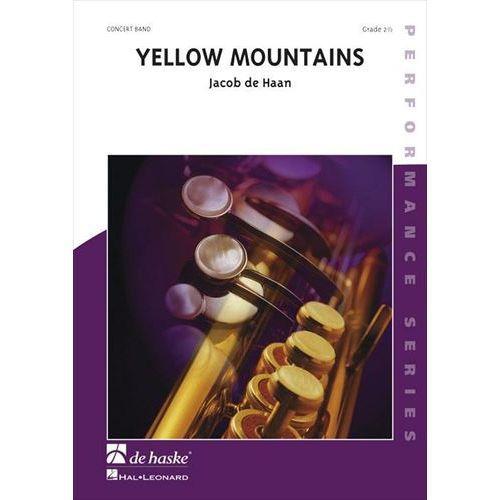 (楽譜) イエロー・マウンテンズ / 作曲:ヤコブ・デハーン (吹奏楽)(スコア+パート譜セット)