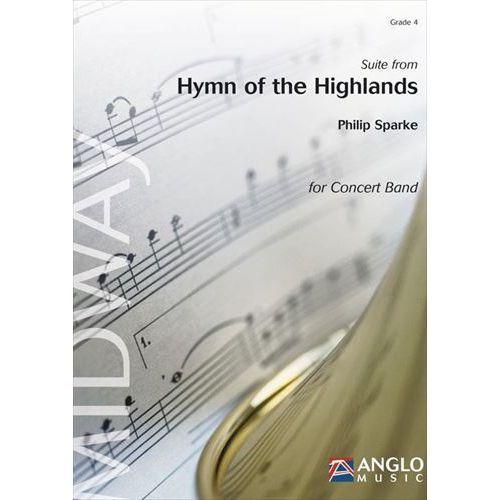 (楽譜) ハイランド賛歌組曲 / 作曲:フィリップ・スパーク (吹奏楽)(スコア+パート譜セット)