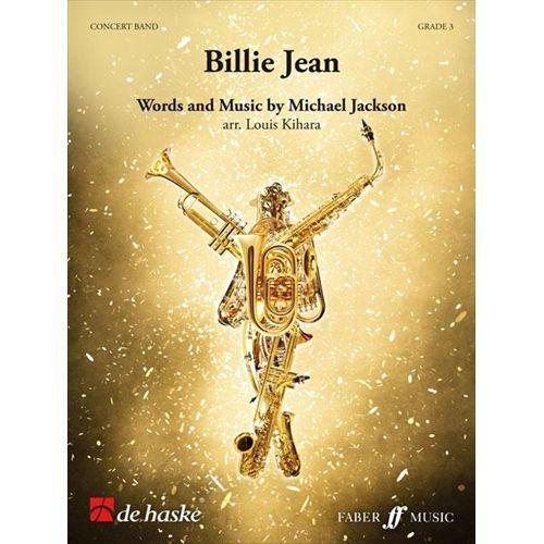 (楽譜) ビリー・ジーン / 作曲:マイケル・ジャクソン 編曲:木原塁 (吹奏楽)(スコア+パート譜セット)