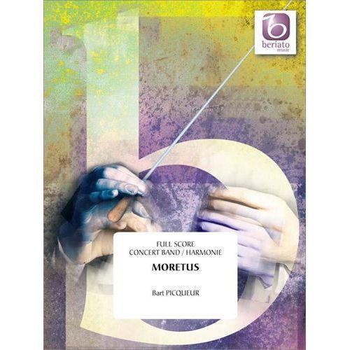 (楽譜) モレトゥス / 作曲:バルト・ピクール (吹奏楽)(スコア+パート譜セット)